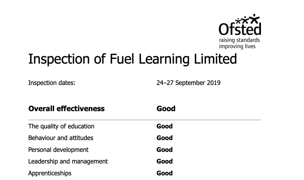 Ofsted Inspection Report