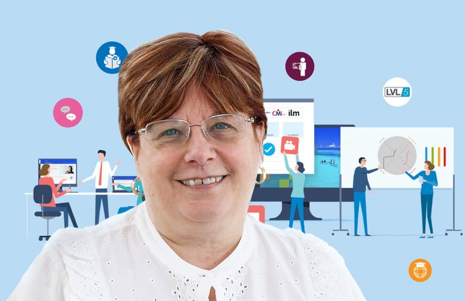 Fiona, level 5 management apprenticeships