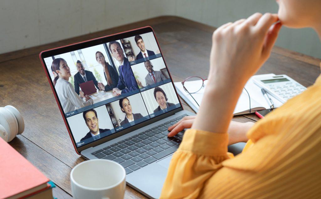 Managing zoom team meetings